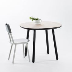 Naive Dining Table, Black -  - Dining Table - EMKO - Space & Shape - 5
