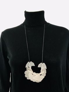 f896e81b Details about Women Contemporary Fashion Creative Acrylic Chunky Artsy  Necklace Jewellery