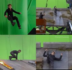 Shailene Woodley doing some serious stunts on the set of the new blockbuster hit Insurgent.