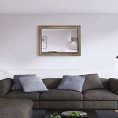 Eye Catching Simple and Elegant cushion silver frame with bevelled mirrorThis Classic design looks perfect in most homes and is available in five sizes as well as available in bespoke sizes Furniture, Traditional Mirrors, Classic Mirror, Contemporary Mirror, Silver Frame, Wall, Home Decor, Easy Wall, Beveled Mirror
