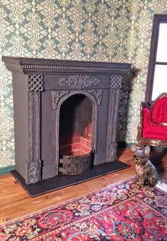 how to: mini fireplace