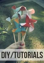 Tutorial: Felt Pinwheels | Motherhood, Frugal Fashion & Thrifty Living | Mrs. Priss