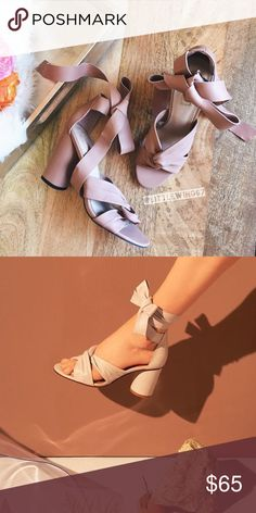 """Topshop ankle wrap sandals Topshop 