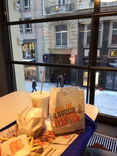 burger king and snow in prague Hungry Jack's, Junk Food, King