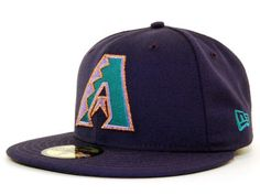 Arizona Diamondbacks New Era 59Fifty MLB Cooperstown Hats