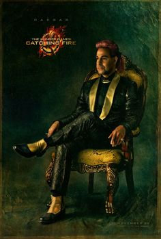 Stanley Tucci in The Hunger Games: Catching Fire