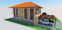 fachada residência
