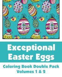 A Great Gift for Easter: Adult Coloring Books! | Time for the Holidays