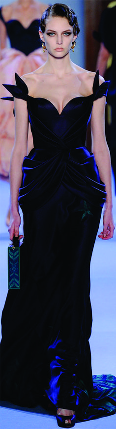 Ulyana Sergeenko, Spring 2014 | Couture.