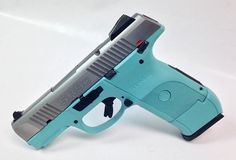 YES PLEASE! this is definitely the one I want!! Tiffany Blue Ruger SR9 Compact 9mm Handgun