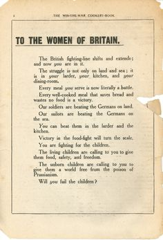 Cooking using a WW1 recipe book - #1 Fish Sausages, #2 Barley Bread, #3 Parkin, #4 Surrey Stew, Women In History, British History, World History, American History, Asian History, Tudor History, Modern History, Local History, Ancient History