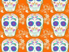 """""""Sugar Skull"""" by ginab7 Dia, Día, Muertos, day, de, dea, death, los, mexican, mexico"""