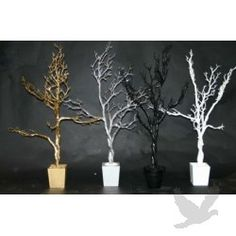 Manzanita Trees & Branches for a babyshower gift card tree? I could do this, but I don't think I would paint them.