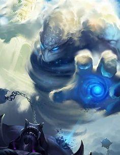Guerrero de las nubes legend of the cryptids Fantasy Monster, Monster Art, Fantasy Creatures, Mythical Creatures, Character Art, Character Design, Dnd Monsters, Mystique, Wow Art