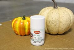 DIY: Hobnail Milk Glass Pumpkin