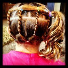 Little Girl Hair I've done