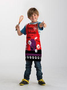 Delantal Infantil Happy Hallowen