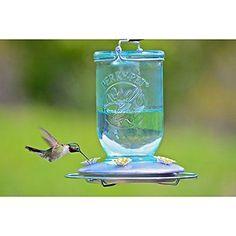 Perky-pet Mason Jar alimentador para colibrí Nuevo