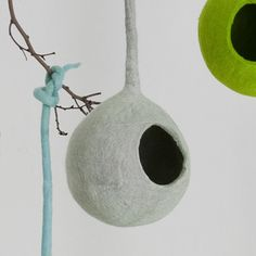 Hanging Nest Grey now featured on Fab.