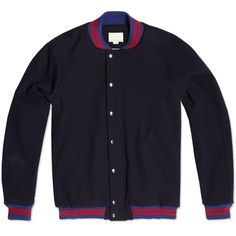 Band of Outsiders Varsity Jacket (Navy)