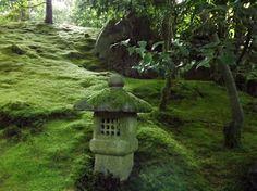 Portland Japanese Garden in Portland, OR