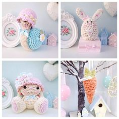༺༺༺♥Elles♥Heart♥Loves♥༺༺༺ ........♥Crochet Amigurumi♥........ #Amigurumi #Patterns #Crochet #Softies #Childrens #Toys #Handmade #Teddy #Doll #Tutorial #Patterns #Collectable~ ♥Tabby Craft Designs