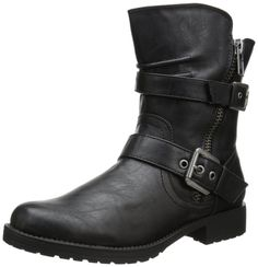 Amazon.com | Penny Loves Kenny Women's Derrick Motorcycle Boot | Ankle & Bootie