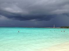 Stormy day in Cancun