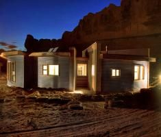 I absolutely love what this organization is doing. Utilizing first year graduate architect students to build a home for Navajo people in need. A win win project for all. I also love the fact that they incorporate salvaged and found materials, modern technologies, and traditional building methods.