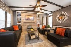 Living Room Idea for Mobile Homes Lovely Cmh Smart Buy Smb W 3 Bed 2 Bath Mobile Home for Sale Home Living Room, Spacious Living Room, Mobile Home Living, Livingroom Layout, Home Decor, Room Remodeling, Single Wide Remodel, Home And Living, Room Layout