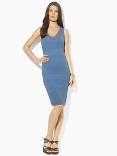 A lovely summer dress. Easy to dress up or down