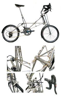 Alex Moulton New Series Double Pylon Separable Bike Only £16,250.00
