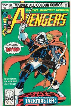 """""""Anything the Avengers can do, I can do better!"""" - The Avengers (June - Cover by George Perez and Joe Rubinstein Best Comic Books, Vintage Comic Books, Vintage Comics, Comic Books Art, Comic Art, Book Art, Vintage Toys, Marvel Comics, Marvel Comic Books"""