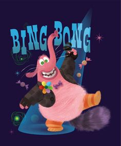 Bing Bong wall decals (March 14, 2015)