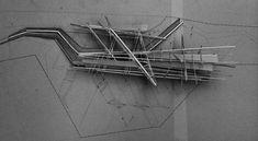 Una maqueta de trabajo que bien podéis usar en el siguiente ejercicio_Concept / model building By architect Christopher Crephead.