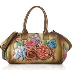 bf77e9b027 Anuschka-Hand-Painted-Large-Wide-Leather-Hobo-Lush-