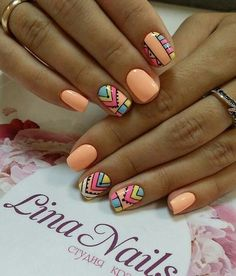 Gel Nail Designs You Should Try Out – Your Beautiful Nails Diy Nails, Cute Nails, Gel Nagel Design, Luxury Nails, Pretty Nail Art, Summer Acrylic Nails, Fabulous Nails, Creative Nails, Trendy Nails