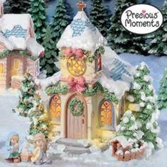 Precious Moments® Christmas Village Subscription Plan