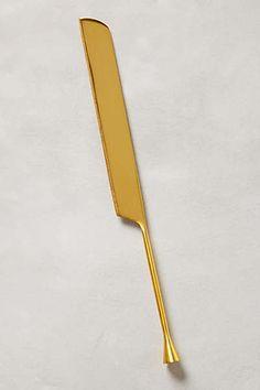 Gilded Cornet Cake Knife