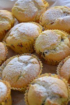 Muffin alla ricotta con cuore morbido