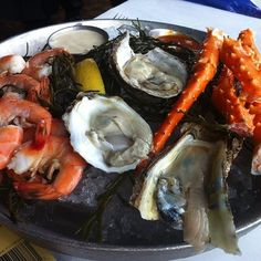 Seafood Trio Platter @ Fulton's Crab House