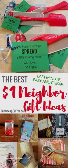 If your neighborhood is anything like mine, you all love giving small little gifts to each other as a way to show your love and appreciation. And if you're anything like me, you might need some neighbor gift ideas once in a while! Mason Jar Christmas Gifts, Neighbor Christmas Gifts, Mason Jar Gifts, Holiday Fun, Christmas Crafts, Christmas Gifts For Teachers, Office Christmas Gifts, Creative Christmas Gifts, Family Christmas Gifts