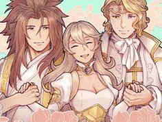 Fire Emblem Fates    Corrin, Xander and Ryoma
