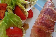 Hähnchenbrust im Speckmantel Whisky Tasting, Fresh Rolls, Pork, Low Carb, Meat, Ethnic Recipes, Hay Diet, Food Planner, Eat Lunch