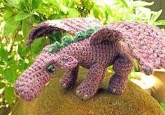 Fierce Little dragon - free pattern link!