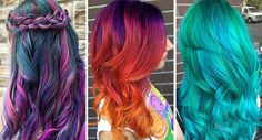 """28 People tried the new """"Galaxy Hair"""" trend and they look ..."""