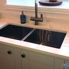 An Innova Harewood Dove Grey Inframe Kitchen Inframe Kitchen, Dove Grey, Sink, Kitchens, Design, Home Decor, Sink Tops, Vessel Sink, Decoration Home