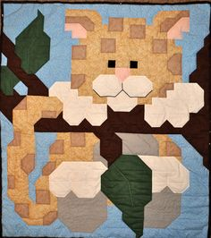 For those night when your little one need a little extra attention. Just hang in there.  www.countedquilts.com