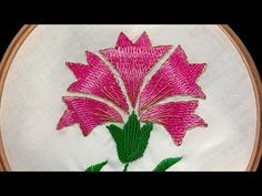 Hand Embroidery flowers Designs tutorial for beginners by Diy Stitching. Here you will find link to all my DIY stitching Ideas, patterns and tutorials. I try...