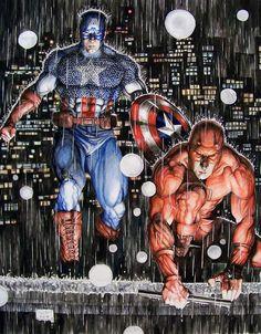 Captain America & Daredevil